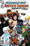 Cover for Justice League: Generation Lost (DC, 2010 series) #24 [Kevin Maguire Variant]