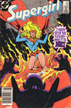 Cover Thumbnail for Supergirl (1983 series) #22 [Newsstand]