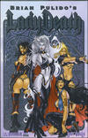 Cover for Brian Pulido's Lady Death: Lost Souls (Avatar Press, 2006 series) #1 [Platinum Foil]