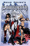 Cover for Brian Pulido's Lady Death: Lost Souls (Avatar Press, 2006 series) #1 [Royal Blue]