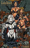 Cover for Brian Pulido's Lady Death: Lost Souls (Avatar Press, 2006 series) #1 [Team Spirit]