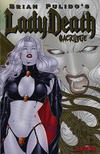 Cover Thumbnail for Brian Pulido's Lady Death: Sacrilege (2006 series) #0 [Gold Foil]