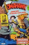 Cover for Tomahawk (Semic, 1977 series) #3/1982