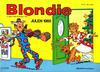 Cover for Blondie (Hjemmet, 1941 series) #1985