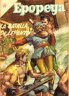 Cover for Epopeya (Editorial Novaro, 1958 series) #2