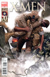 Cover for X-Men (Marvel, 2010 series) #14 [I Am Captain America Variant]