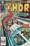 Cover for Thor (Marvel, 1966 series) #317 [Direct]