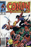 Cover for Conan the Barbarian (Marvel, 1970 series) #169 [Newsstand]