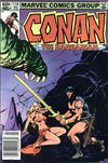 Cover for Conan the Barbarian (Marvel, 1970 series) #144 [Newsstand]