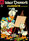 Cover for Walt Disney's Comics and Stories (Dell, 1940 series) #v17#7 (199) [15¢]