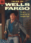 Cover for Four Color (Dell, 1942 series) #876 - Tales of Wells Fargo [15¢]