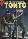 Cover for The Lone Ranger's Companion Tonto (Dell, 1951 series) #30 [15¢]