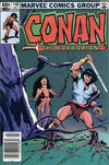 Cover for Conan the Barbarian (Marvel, 1970 series) #148 [Newsstand]