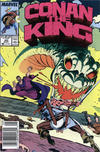 Cover Thumbnail for Conan the King (1984 series) #40 [Newsstand Edition]