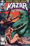 Cover for Ka-Zar the Savage (Marvel, 1981 series) #4 [Direct]