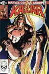 Cover for Ka-Zar the Savage (Marvel, 1981 series) #5 [Direct]