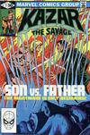 Cover for Ka-Zar the Savage (Marvel, 1981 series) #7 [Direct]