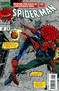 Cover Thumbnail for Spider-Man (Marvel, 1990 series) #46 [Silver Direct Edition]
