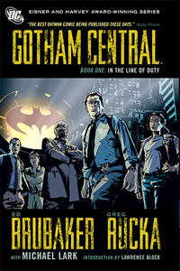 Cover Thumbnail for Gotham Central (DC, 2008 series) #1 - In the Line of Duty