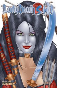 Cover Thumbnail for Lady Death / Shi (Avatar Press, 2007 series) #1 [Royal Blue]