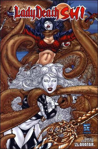 Cover for Lady Death / Shi Preview (Avatar Press, 2006 series)  [Attack]