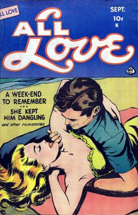 Cover Thumbnail for All Love (Ace Magazines, 1949 series) #28