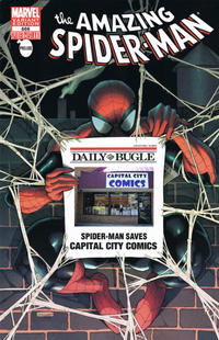 Cover Thumbnail for The Amazing Spider-Man (Marvel, 1999 series) #666 [Capital City Comics Exclusive Bugle Variant Cover]