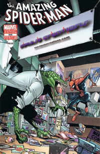 Cover for The Amazing Spider-Man (Marvel, 1999 series) #666 [Comic Swap Exclusive Bugle Variant Cover]