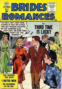 Cover Thumbnail for Brides Romances (Quality Comics, 1953 series) #12