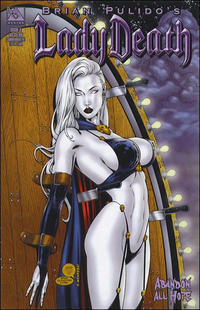 Cover Thumbnail for Brian Pulido's Lady Death: Abandon All Hope (Avatar Press, 2005 series) #4 [Commemorative]