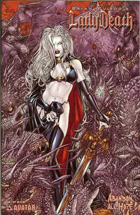 Cover Thumbnail for Brian Pulido's Lady Death: Abandon All Hope (Avatar Press, 2005 series) #4 [Ryp]