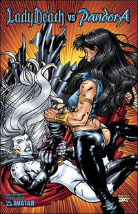 Cover Thumbnail for Lady Death vs Pandora (Avatar Press, 2007 series) #1 [Cat Fight]
