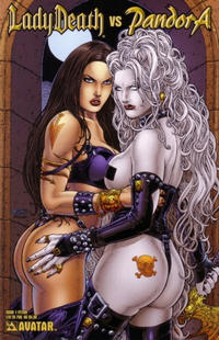 Cover Thumbnail for Lady Death vs Pandora (Avatar Press, 2007 series) #1 [Fetish]