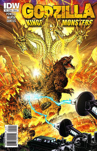 Cover for Godzilla: Kingdom of Monsters (IDW, 2011 series) #5