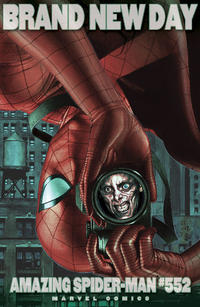 Cover Thumbnail for The Amazing Spider-Man (Marvel, 1999 series) #552 [Incentive Adi Granov Variant]