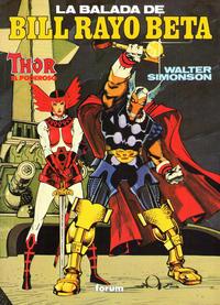 Cover Thumbnail for Obras Maestras (Planeta DeAgostini, 1991 series) #3 - Thor el Poderoso: La Balada de Bill Rayo Beta
