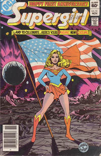 Cover Thumbnail for The Daring New Adventures of Supergirl (DC, 1982 series) #13 [Newsstand]