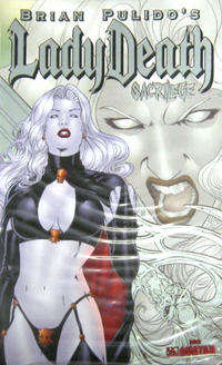 Cover Thumbnail for Brian Pulido's Lady Death: Sacrilege (Avatar Press, 2006 series) #0 [Platinum Foil]