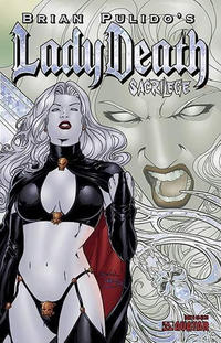 Cover Thumbnail for Brian Pulido's Lady Death: Sacrilege (Avatar Press, 2006 series) #0 [Prism Foil]