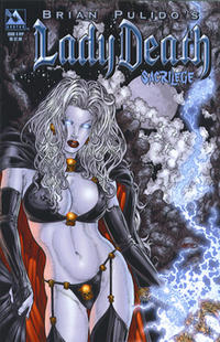 Cover Thumbnail for Brian Pulido's Lady Death: Sacrilege (Avatar Press, 2006 series) #0 [Ryp]