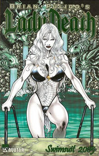 Cover Thumbnail for Brian Pulido's Lady Death: Swimsuit (Avatar Press, 2005 series) #2005 [Emerald Green Foil]