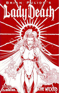Cover Thumbnail for Lady Death: The Wicked (Avatar Press, 2005 series) #1/2 [Leather]