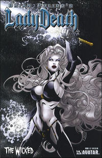 Cover Thumbnail for Lady Death: The Wicked (Avatar Press, 2005 series) #1/2 [Regular]