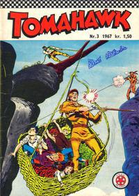 Cover Thumbnail for Tomahawk (Serieforlaget / Se-Bladene / Stabenfeldt, 1965 series) #3/1967