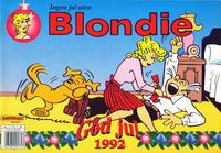 Cover Thumbnail for Blondie (Hjemmet / Egmont, 1941 series) #1992