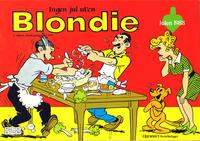 Cover Thumbnail for Blondie (Hjemmet / Egmont, 1941 series) #1988