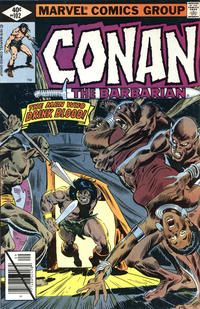 Cover Thumbnail for Conan the Barbarian (Marvel, 1970 series) #102 [Direct Edition]