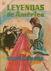 Cover Thumbnail for Leyendas de América (Editorial Novaro, 1956 series) #73