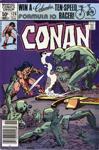 Cover Thumbnail for Conan the Barbarian (Marvel, 1970 series) #128 [Newsstand]