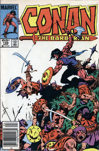 Cover for Conan the Barbarian (Marvel, 1970 series) #169 [Direct Edition]